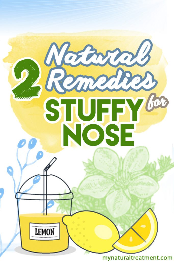 2 Natural Remedies for Stuffy Nose - remedies for stuffy nose