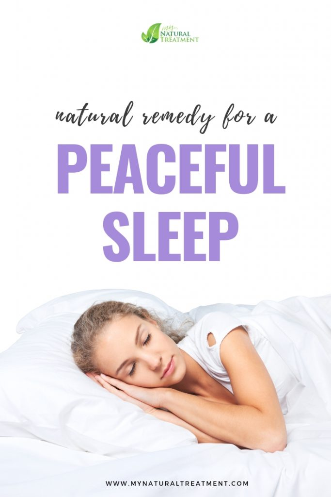 natural remedy for a peaceful sleep