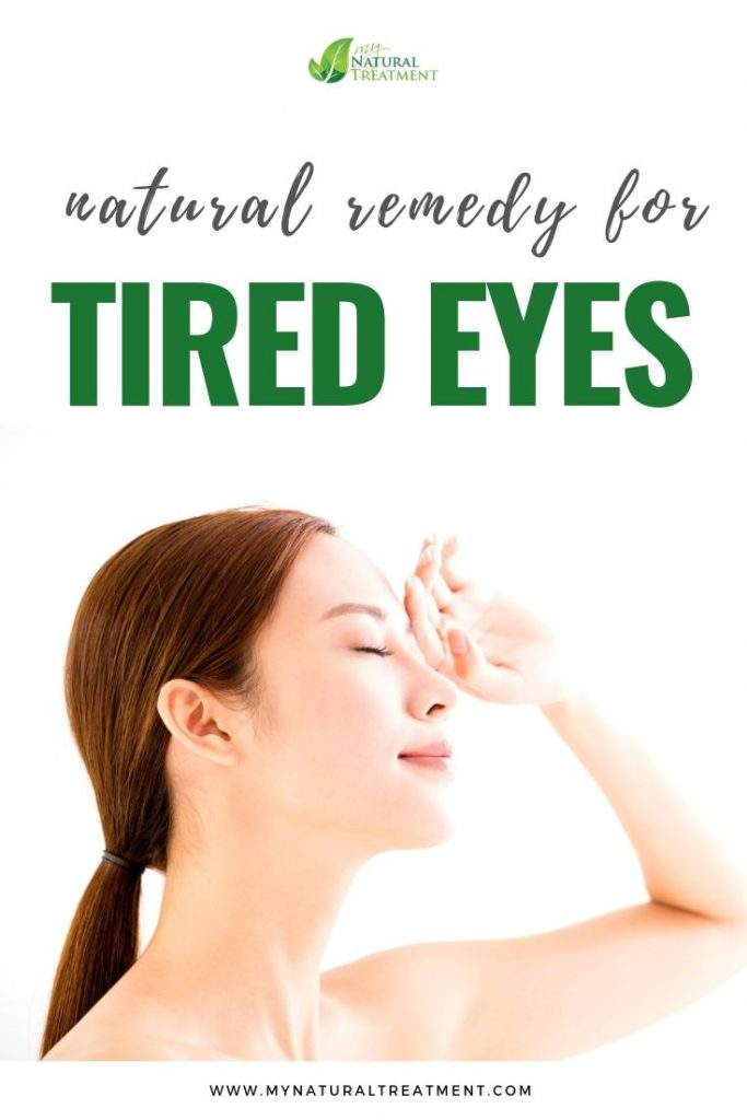 Natural Remedy for Tired Eyes