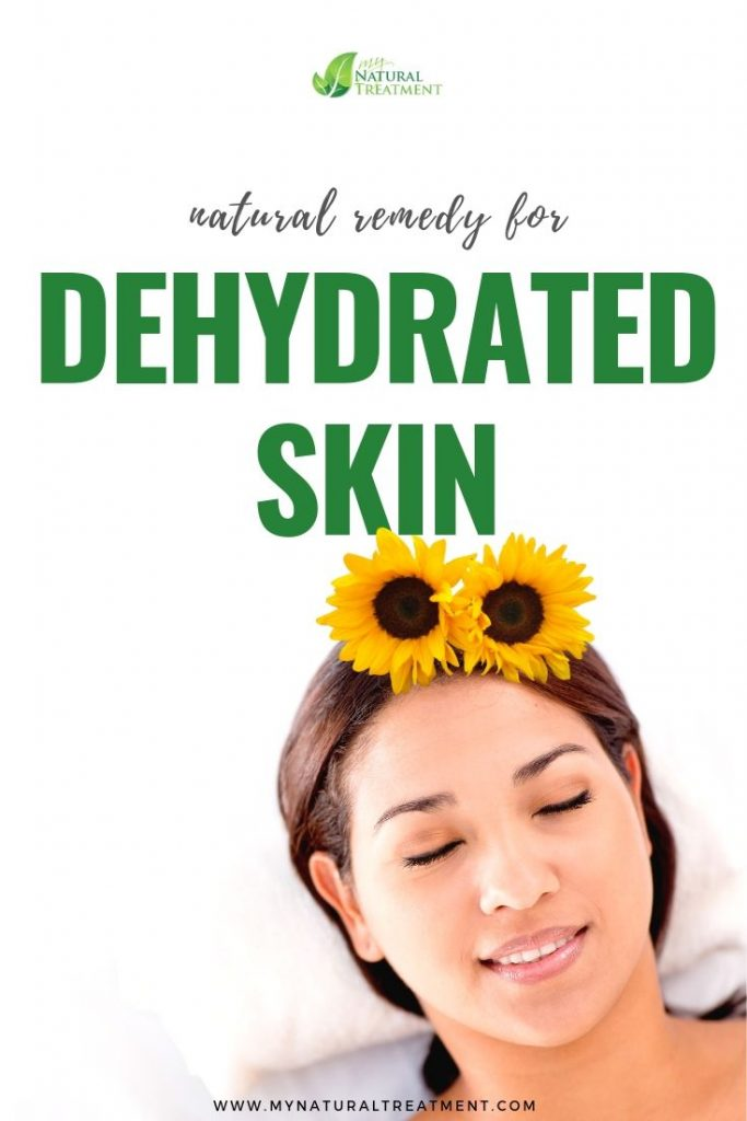 Dehydrated Skin remedy with sunflower