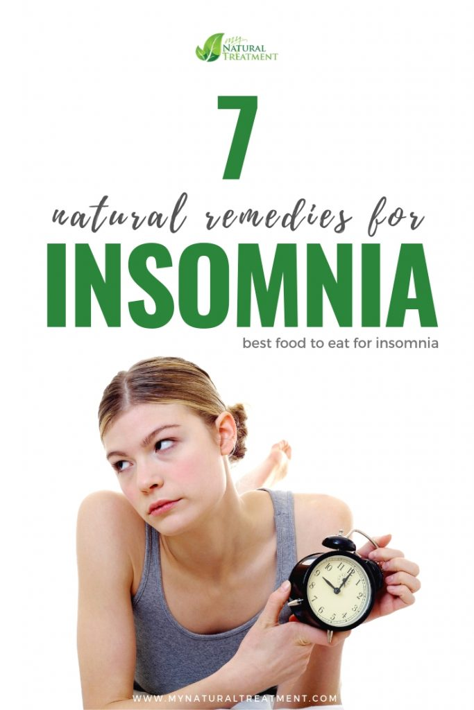 7 Natural Remedies for Insomnia and Some Tips