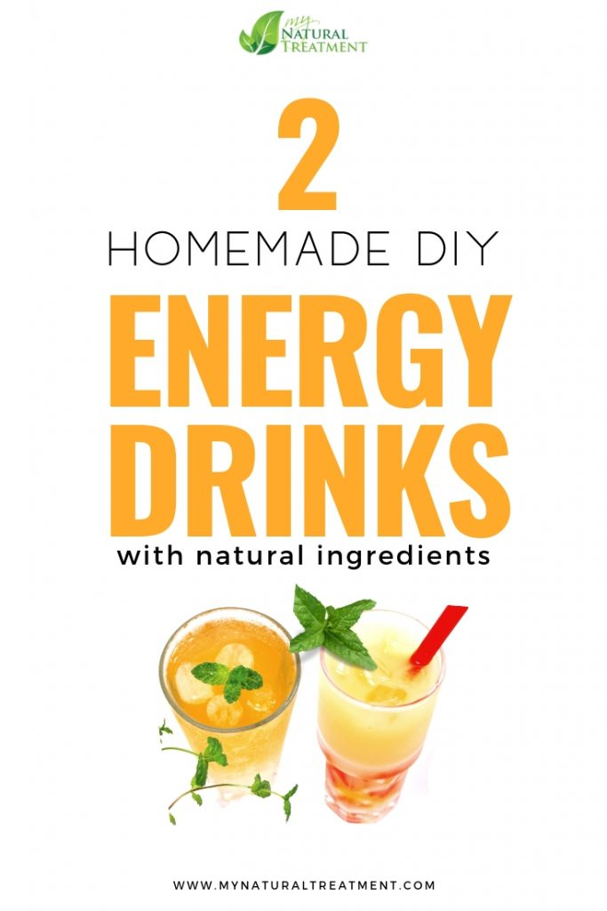 2 Natural Energy Drinks to Make at Home