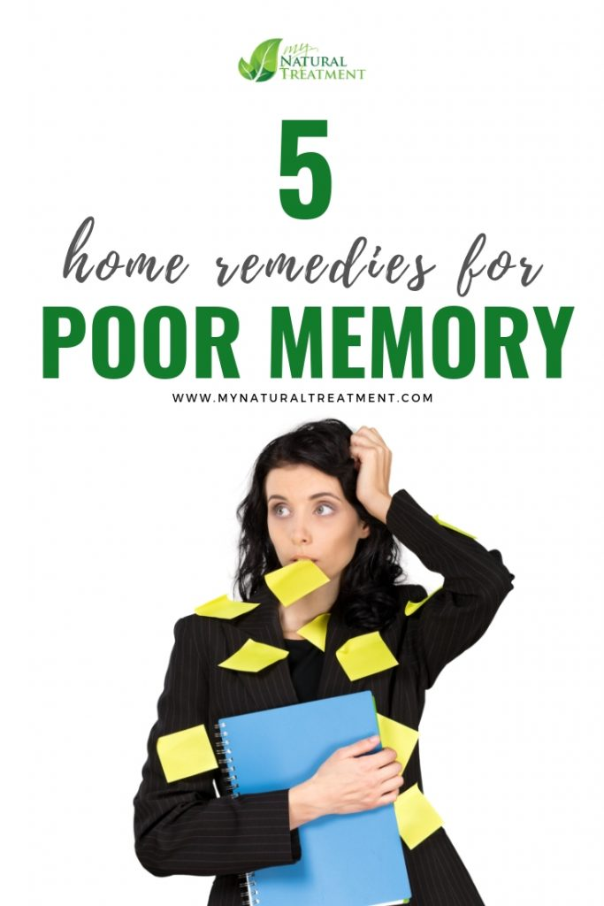 5 Home Remedies for Poor Memory