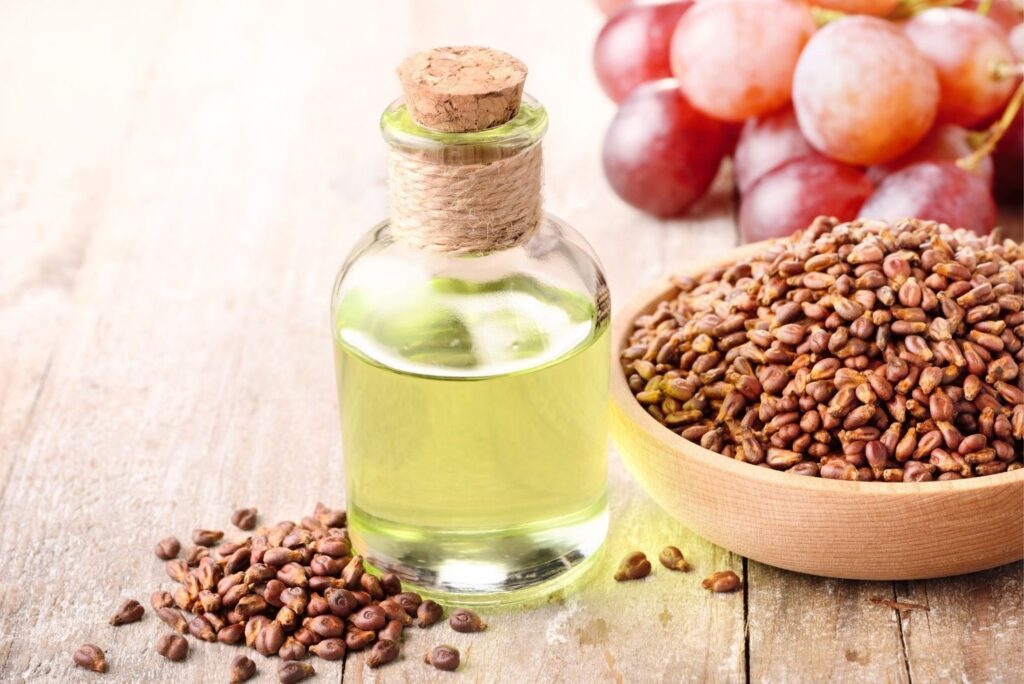 Home Remedy for Scrapes - Grapeseed Oil