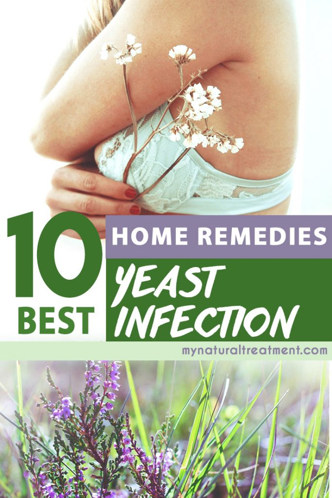 10 Best Home Remedies for Yeast Infection