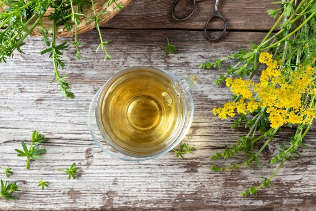 9 Natural Remedies for Thyroid Nodules - Lady's Bedstraw Tea