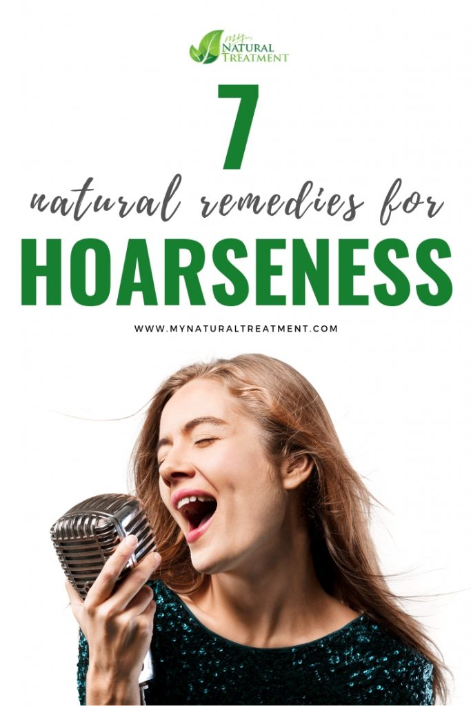 7 Natural Remedies for Hoarseness