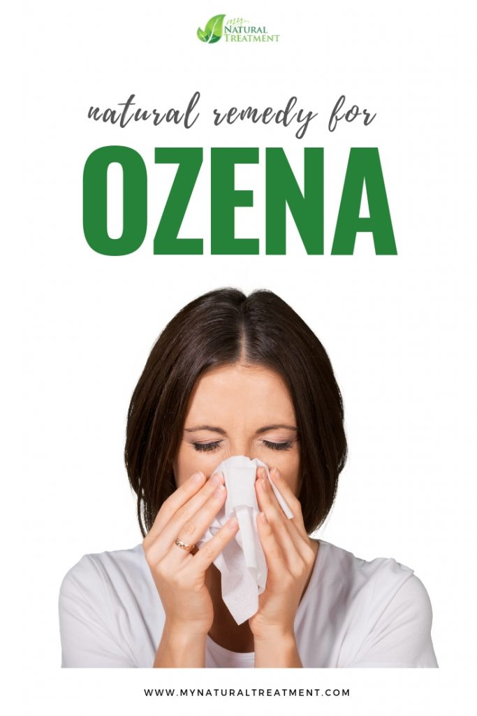 Ozena remedy with a simple nasal wash
