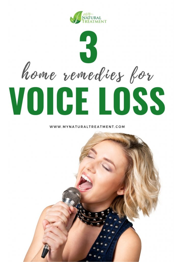 Home Remedies for Voice Loss
