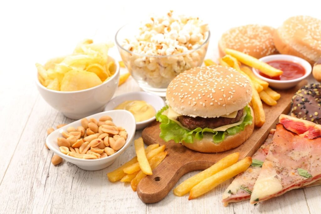 Diet Recommendations for Psoriasis - Junk Food