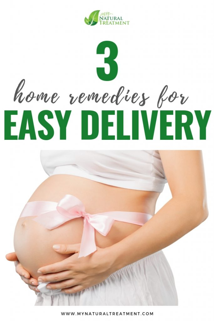 3 Home Remedies for Easy Delivery