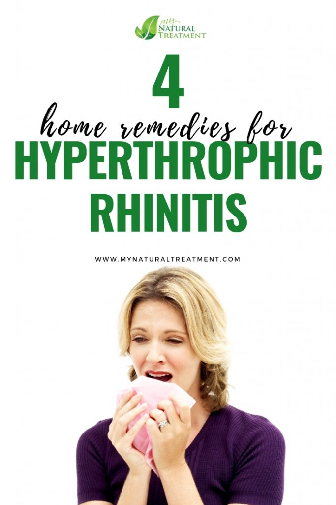4 Simple Home Remedies for Hypertrophic Rhinitis