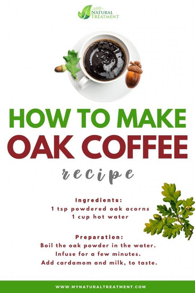 How to Make Oak Coffee Recipe