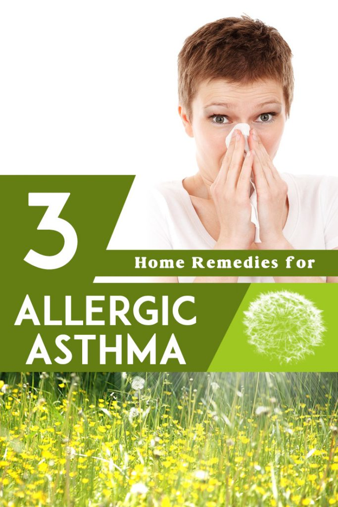 Here you have the most effective 3 home remedies for allergic asthma.