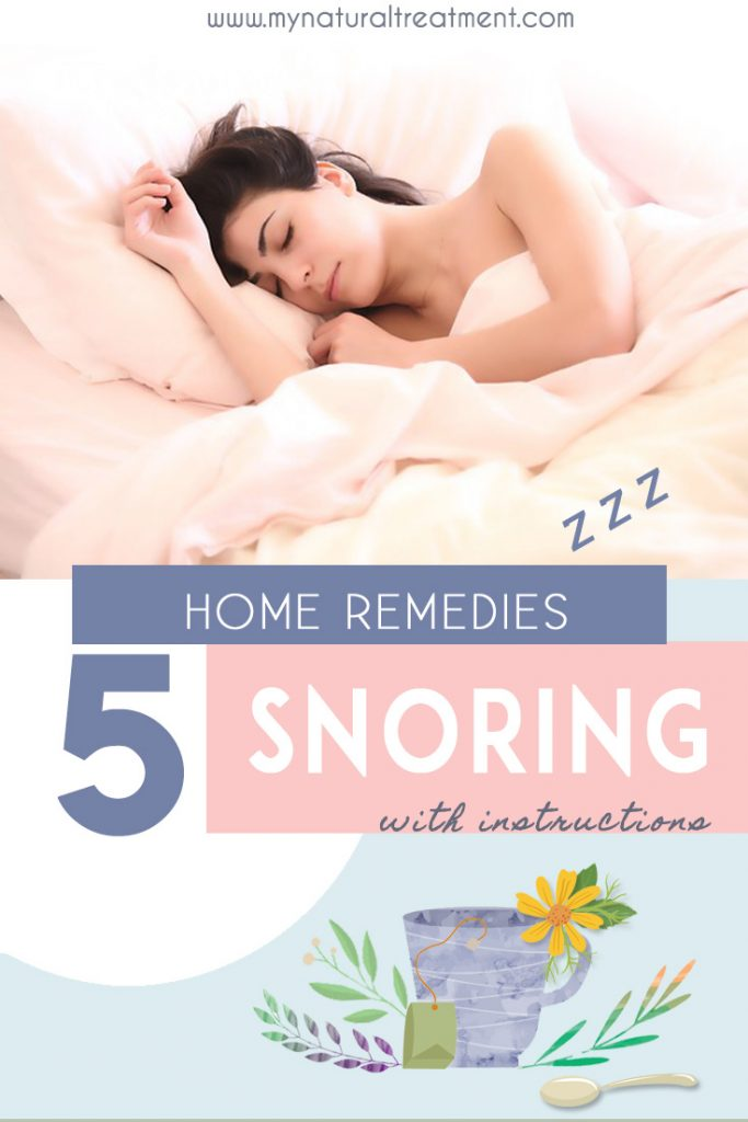 Home Remedies for Snoring with Herbs