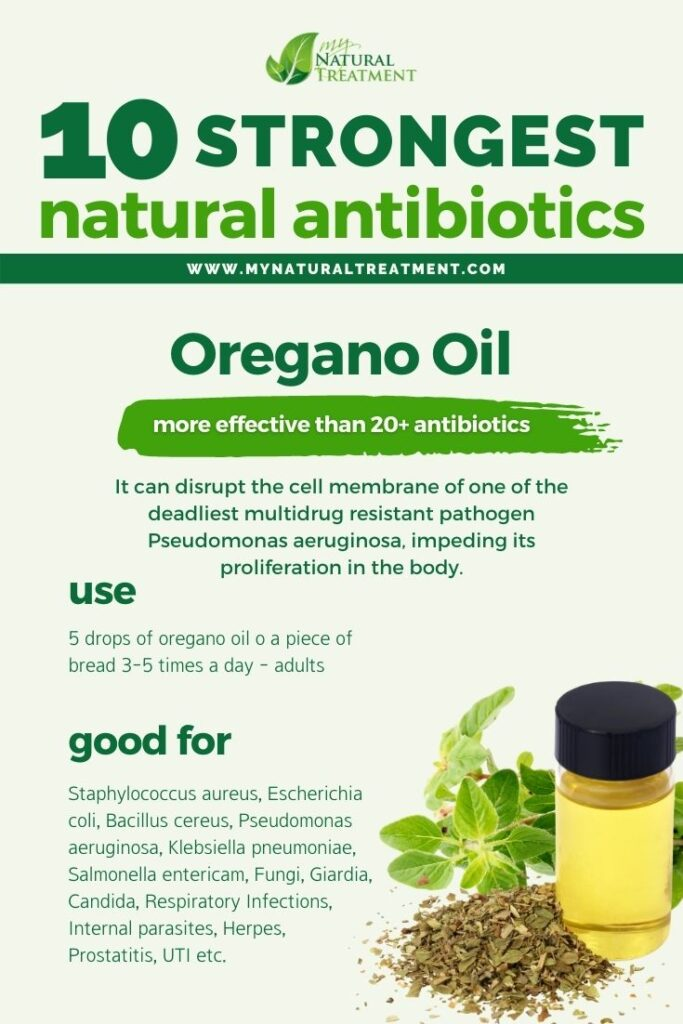 Strongest Natural Antibiotics - Oregano Oil - MyNaturalTreatment.com