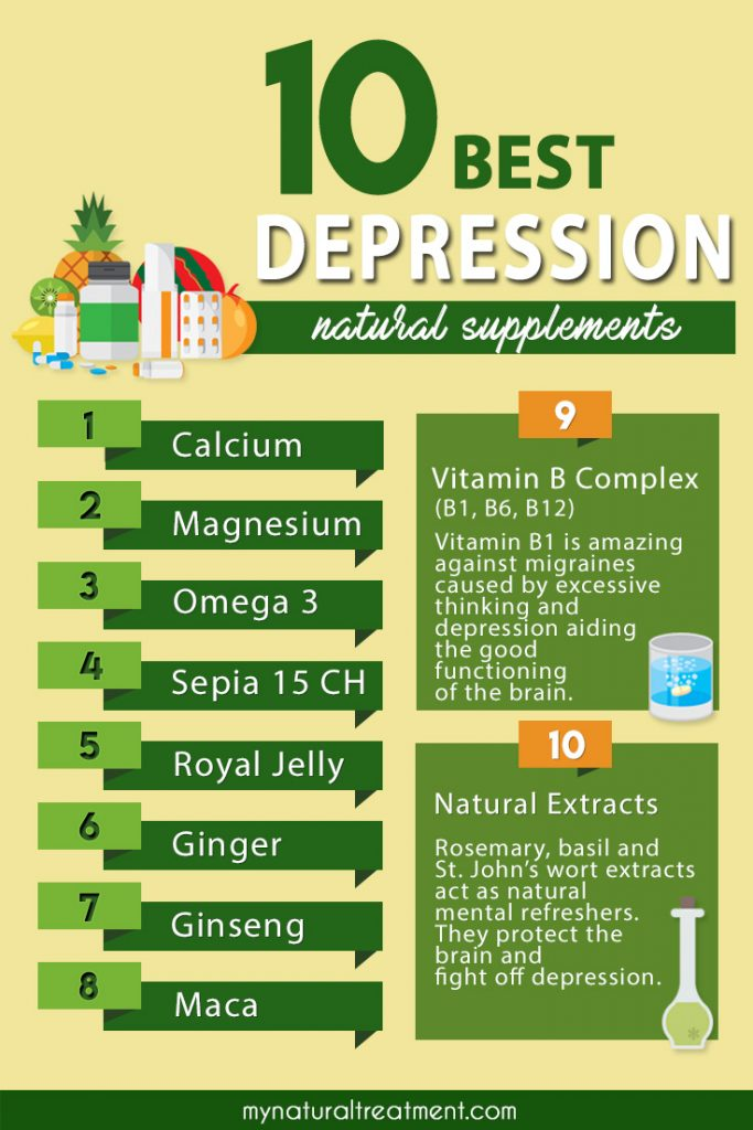 natural supplements depression