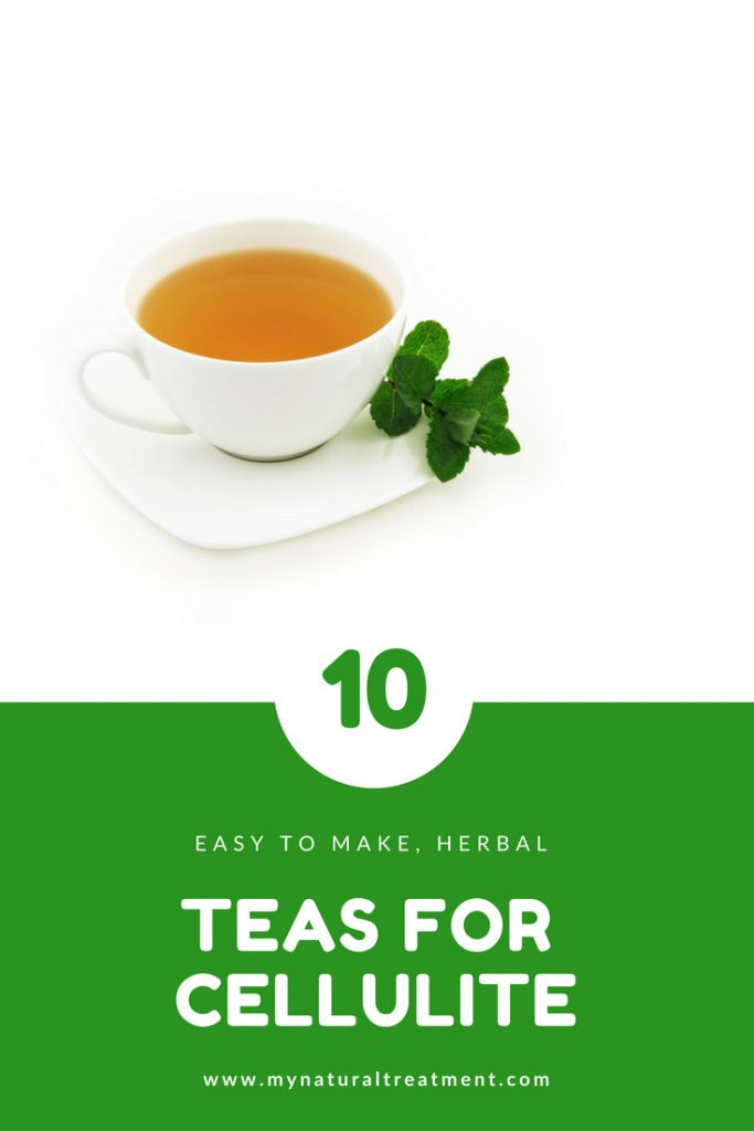 10 Best Herbal Teas for Cellulite #cellulite
