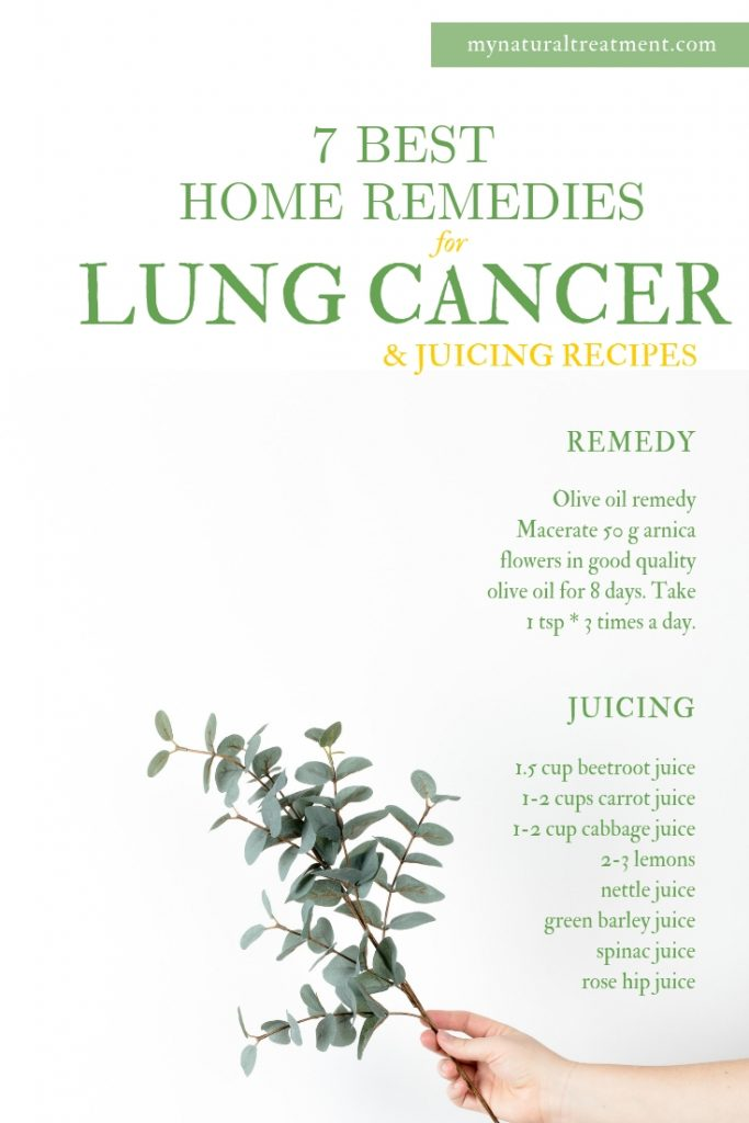 7 Best Home Remedies for Lung Cancer and Juicing for Cancer #lungcancer #Lungcancerremedy #homeremedy