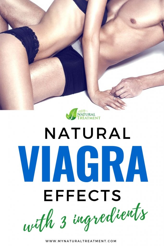 Get Natural Viagra Effects with These 3 Simple Ingredients #naturalviagra