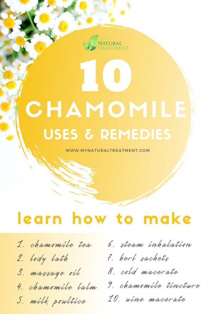 10 Chamomile Uses & Remedies - DIY Recipes with Chamomile