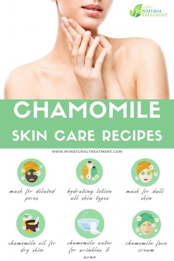 DIY Chamomile Skin Care - Natural Skin Care Recipes with Chamomile #chamomileskincare #chamomile