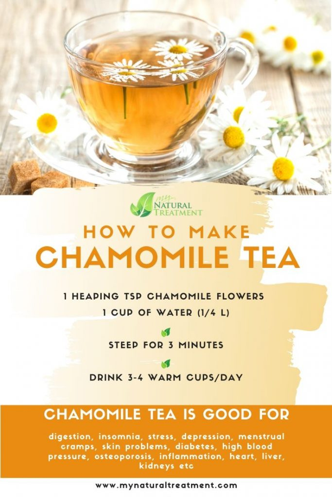 How to Make Chamomile Tea - Recipe #chamomiletea
