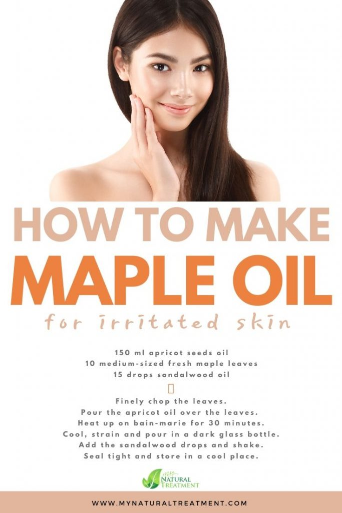 Maple Leaves Oil for Irritated Skin