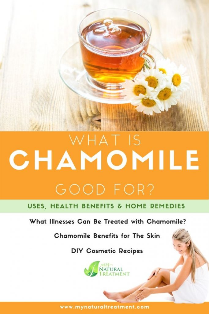 What Is Chamomile Good For Uses Benefits Remedies MyNaturalTreatment.com