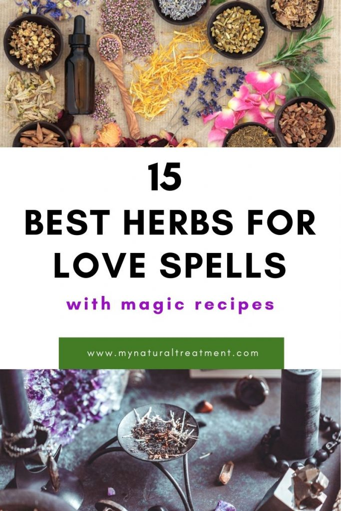 Love spell herbs and how to use them