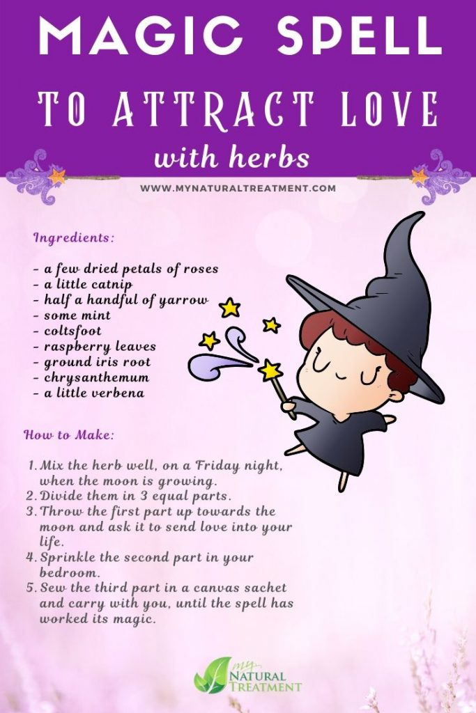 Copie a Magic Herbs for Love Spells MyNaturalTreatment.com