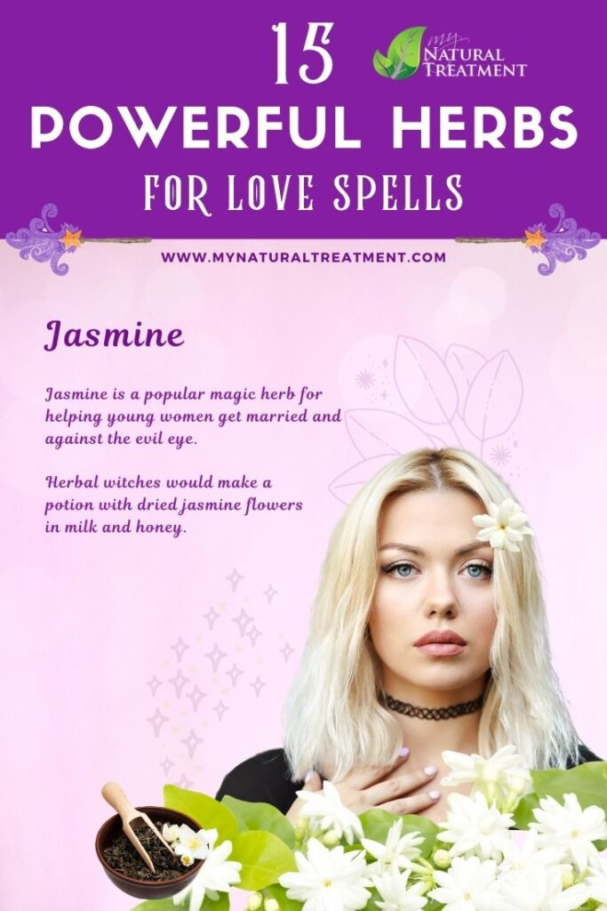 Jasmine - Powerful Magic Herbs for Love Spells