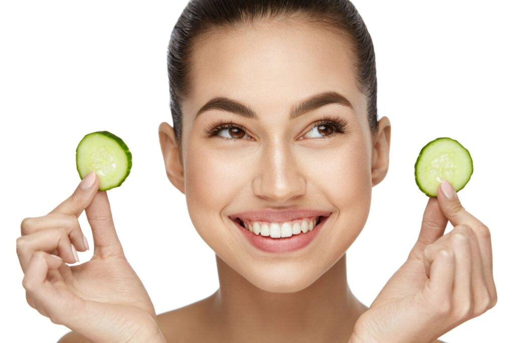 5 Easy Natural Skin Care for Dark Spots on Face – Cucumber Face Mask