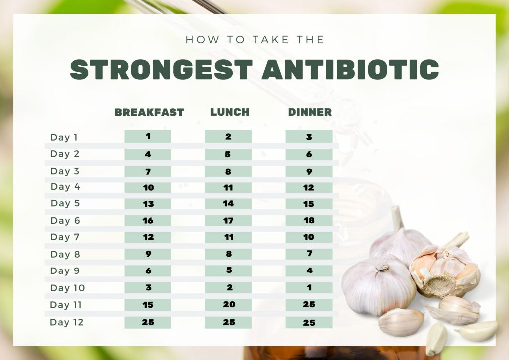 The Strongest Natural Antibiotic in The World with Recipe - How to Use & Uses