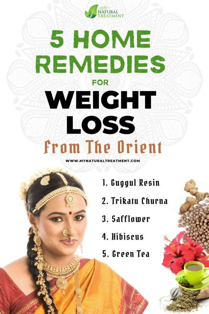 5 Natural Remedies for Weight Loss from the Orient and how to use them.
