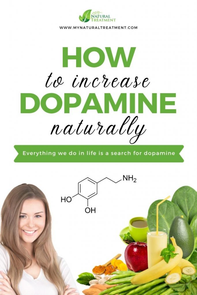 Learn how to increase dopamine naturally - 7 ways