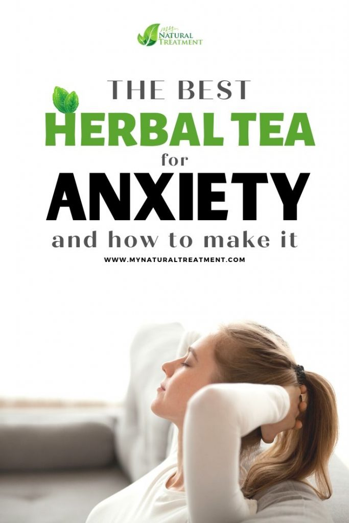 Effective herbal tea for anxiety, sleep problems, eating disorders caused by anxiety and stress.