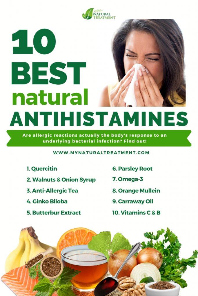 10 Best Natural Antihistamines for Allergies