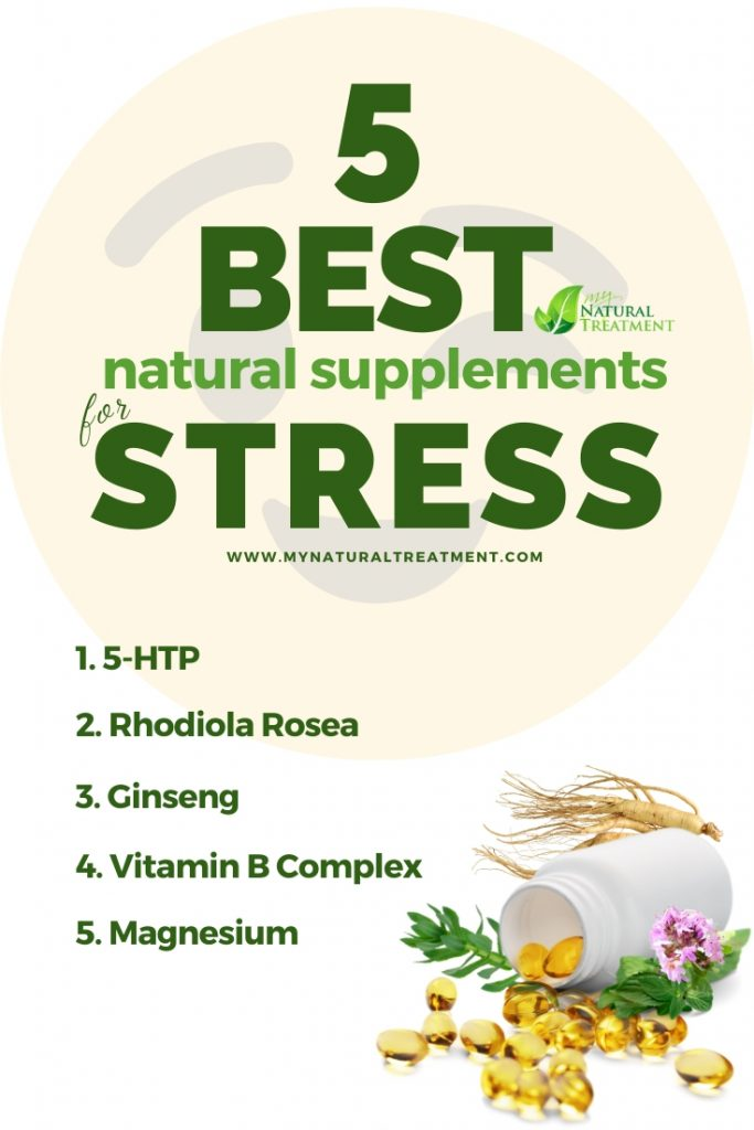 5 Best Natural Supplements for Stress & Anxiety