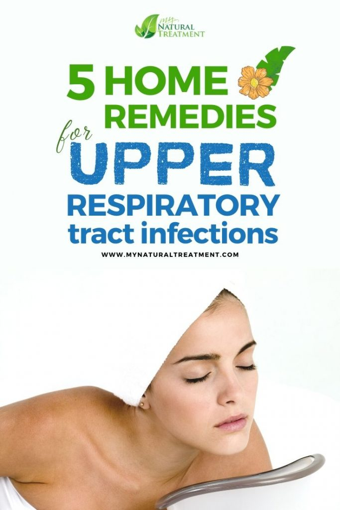 5 Home Remedies for Upper Respiratory Tract Infections URTI, including sinus infection, laryngitis, pharyngitis and others.