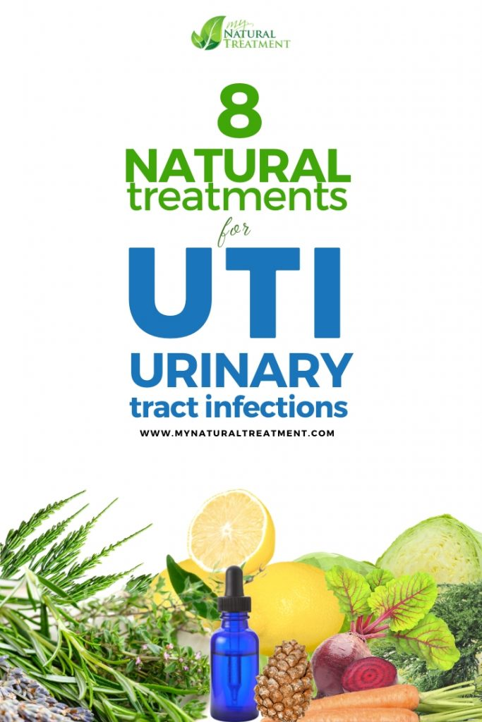 8 Natural Treatments for Urinary Tract Infection (UTI)
