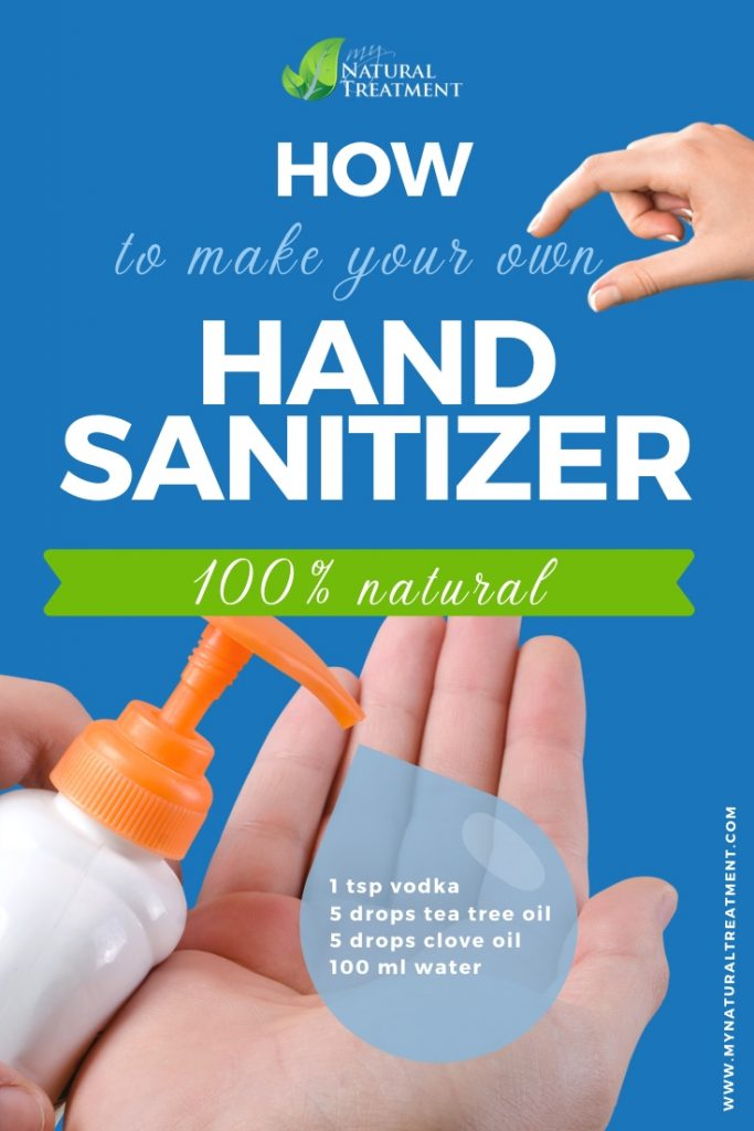 3-Ingredient Natural Hand Sanitizer Recipe