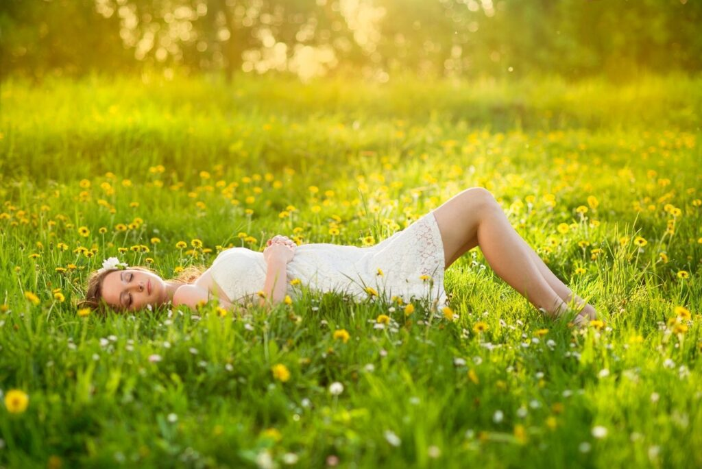 Deep Breathing Exercise with 10 Health Benefits – Lay Down