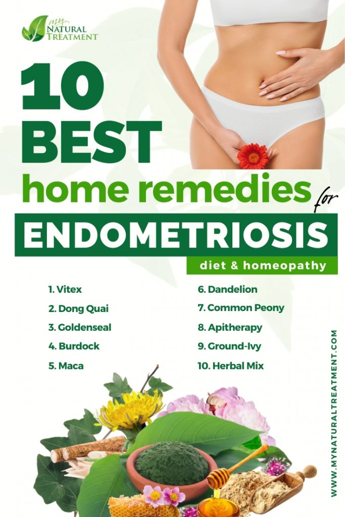 10 Best Home Remedies for Endometriosis & Diet Recommendations