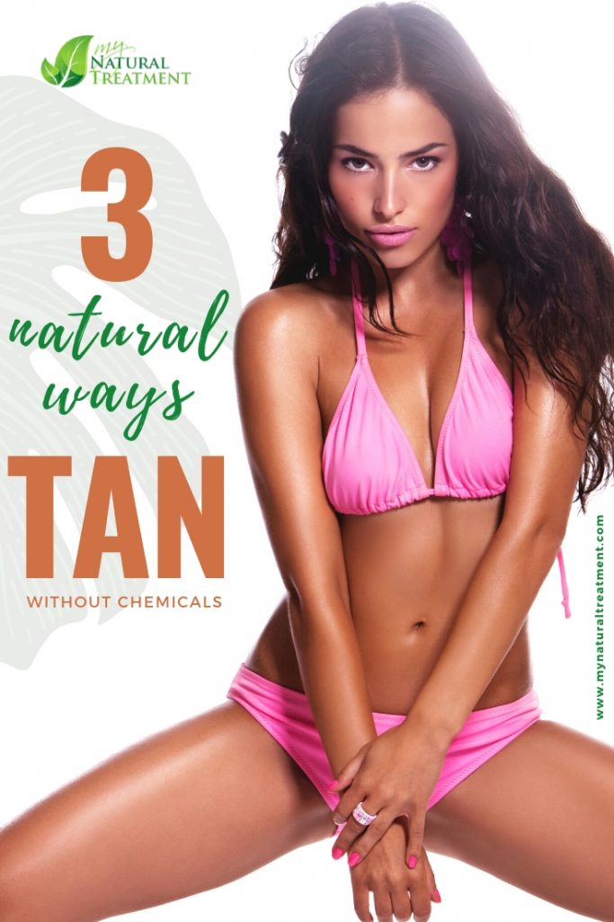 How to Tan Naturally without Chemicals