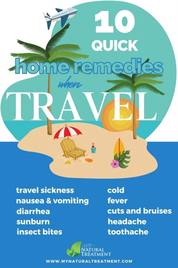 10 Quick Home Remedies when Travel