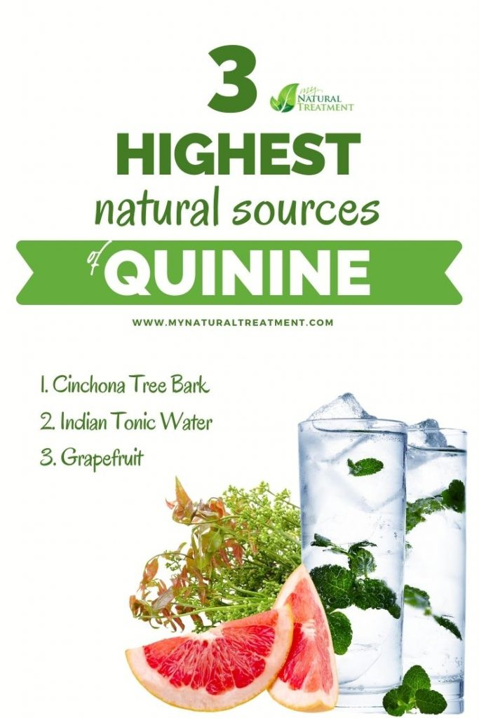 What Are The Highest Natural Sources of Quinine? Discover 3 natural sources of quinine.