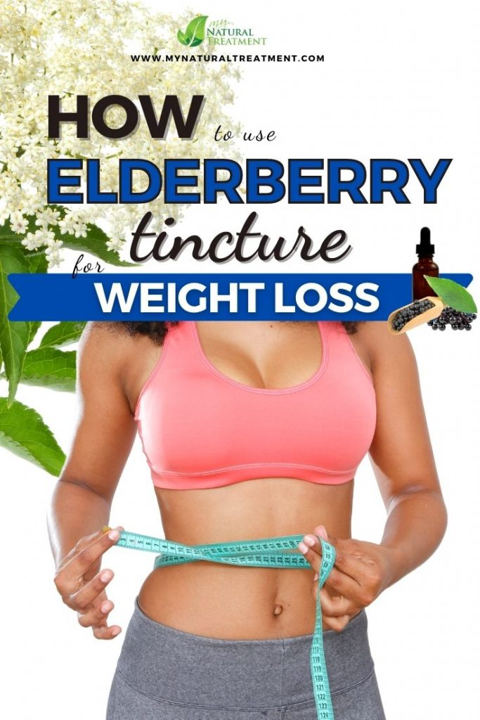 Elderberry tincture for weight loss