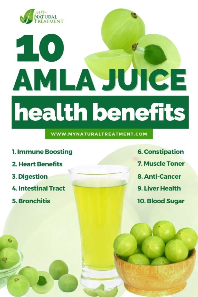 10 Amazing Amla Juice Benefits, Side Effects, and How to Make It - MyNaturalTreatment.com