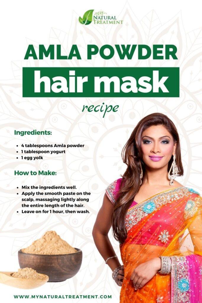 Amla Juice for Hair - Amla Powder Hair Mask Recipe - Amla Juice Benefits